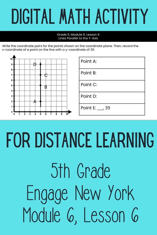 5th Grade Engage New York Math Grade 5 Module 6 Lesson 6 Aligned Digital Math Activity Video Digital Activities Math Math Activities [ 1500 x 1000 Pixel ]