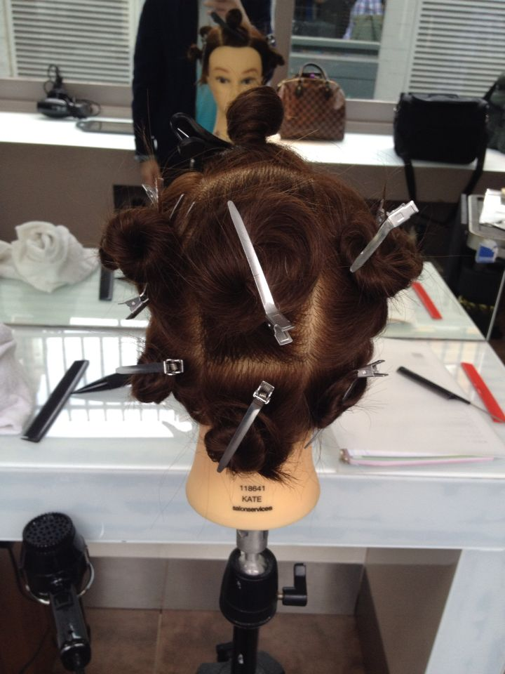 9 th of june 2015 Sectioning for a full head of highlights ...