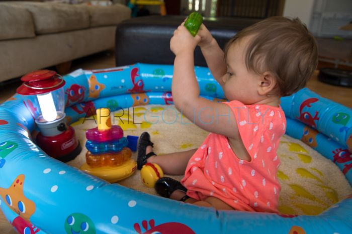 Keep your Infant Busy during Hurricane Season with Duracell light up baby toys #shop #collectivebias #PrepwithPower