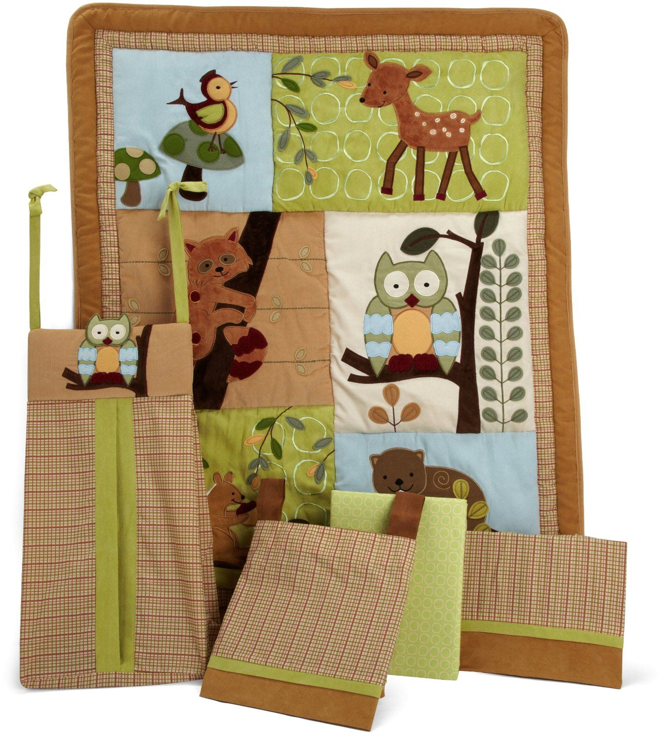Lambs And Ivy Enchanted Forest Baby Bedding