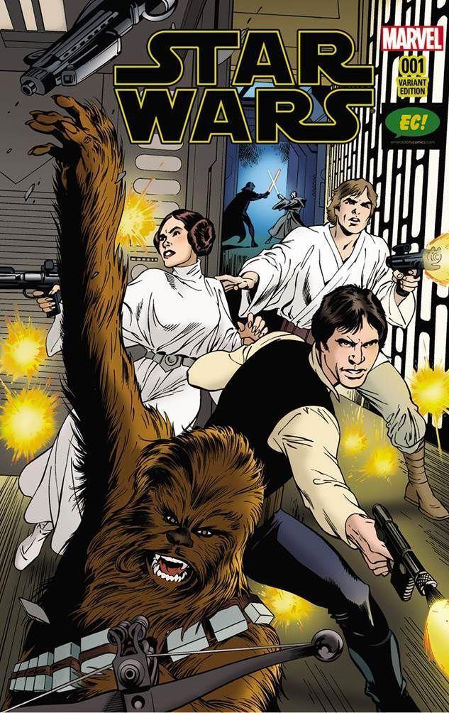 Star Wars #1, variant cover di Alan Davis