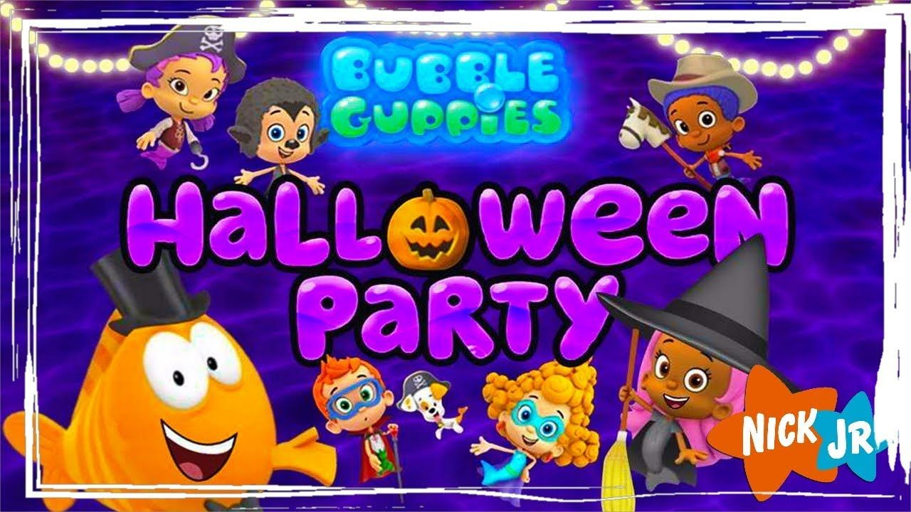 Bubble Guppies: Halloween Party - Dress Up Game For Preschooler ...