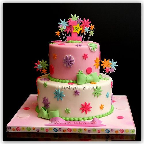 1st birthday cake Cake Inspiration for Darcy Pinterest