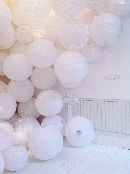 Inspiratie Voor De Vrijdagmiddag Interior Junkie Round Paper Lanterns Paper Lanterns Paper Lantern Decor