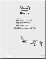 Beechcraft King Air 90 A90 B90 C90 E90 Aircraft Wiring