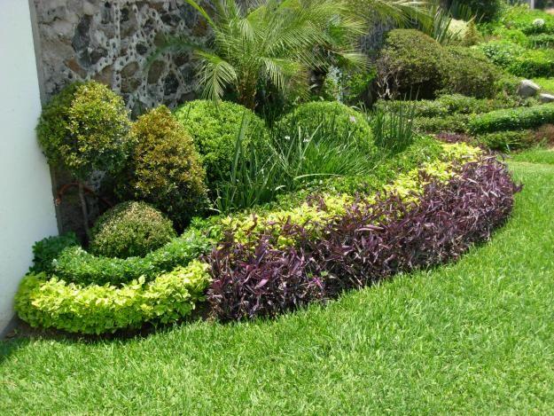 dise o de jardin en espacios grandes buscar con google