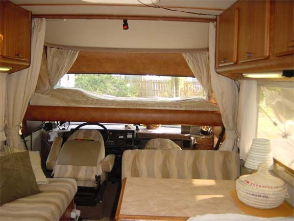 Motorhome Layout Bed Over Cab Buscar Con Google On The