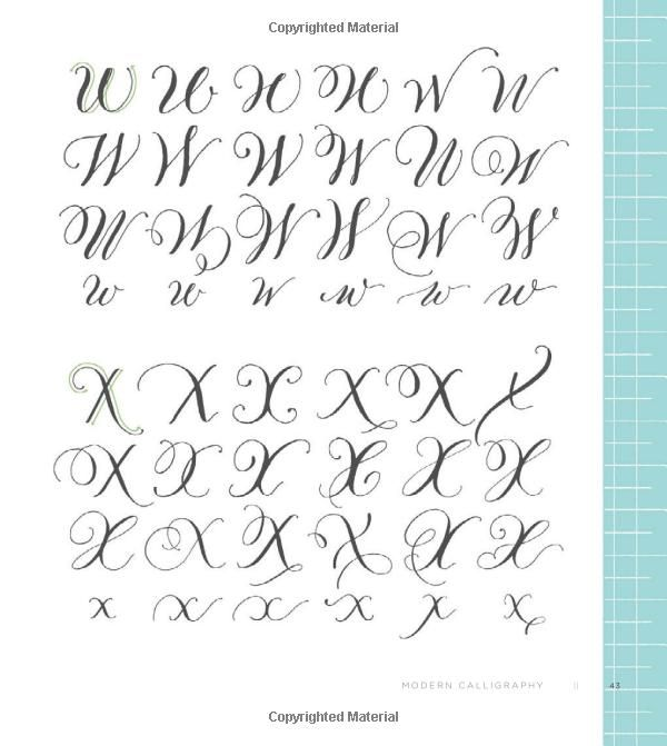 Modern calligraphy everything you need to know get
