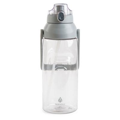 24Oz Smoke W// Grey Cap Nalgene Tritan On The Fly Water Bottle