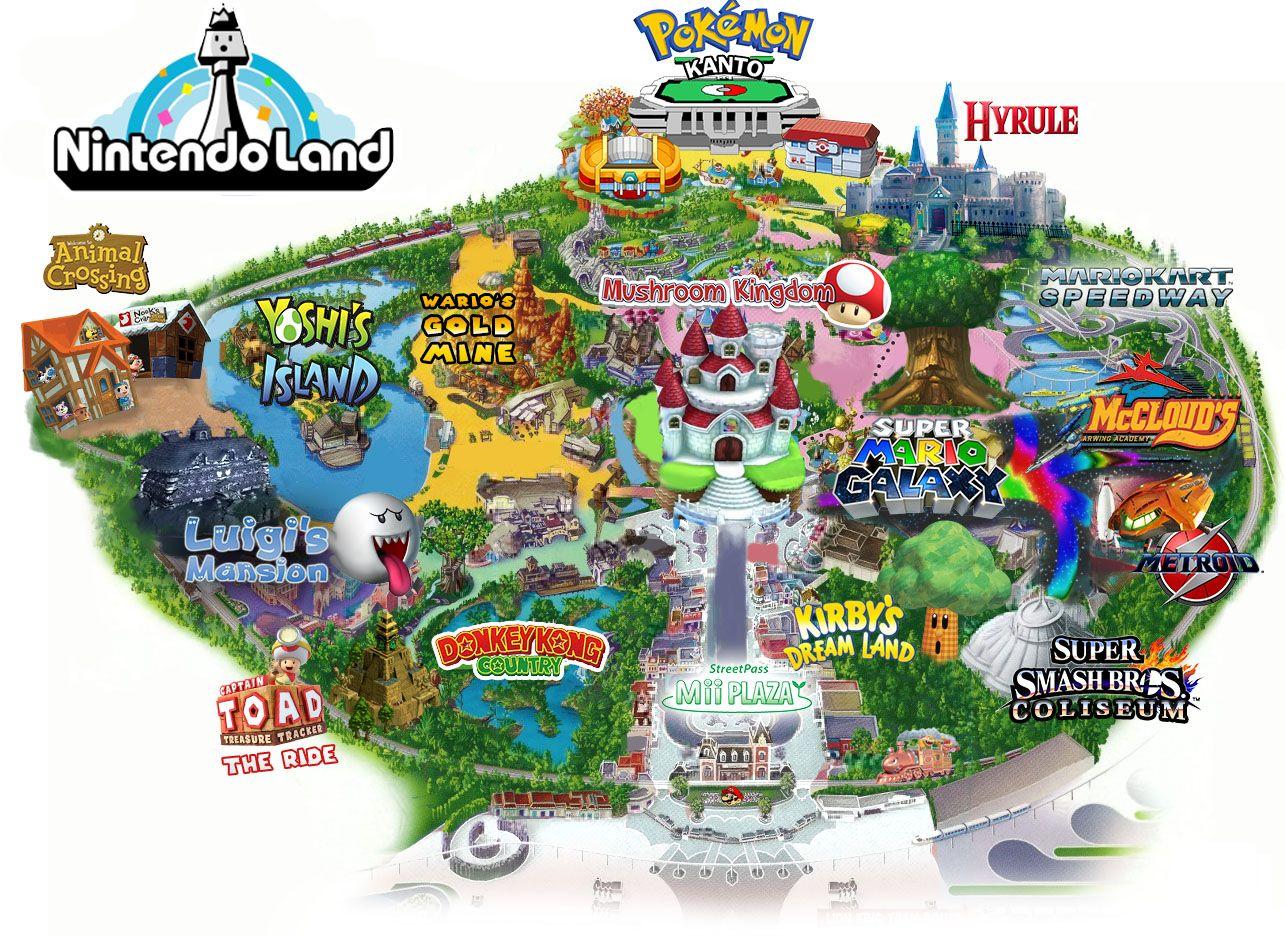 Universal Studios Nintendo Themed Land Under Construction