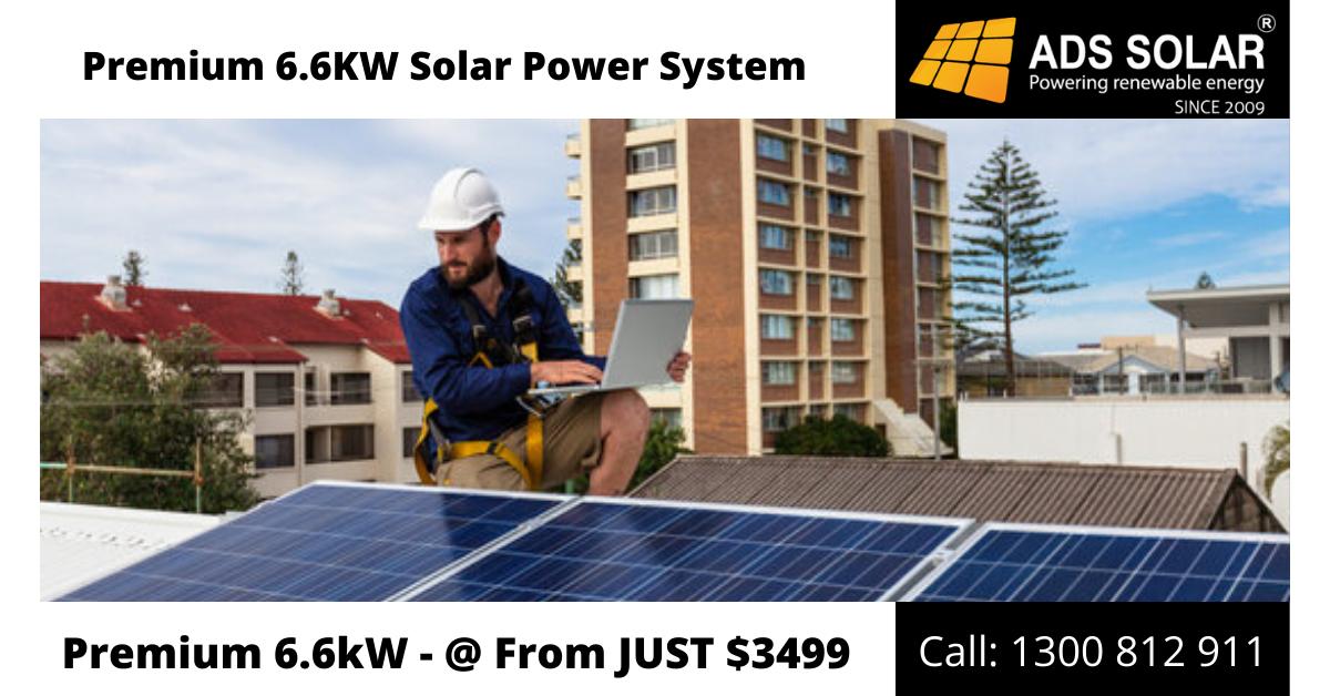 Premium 6 6kw Solar Power System In 2020 Solar Power System Solar Solar Companies
