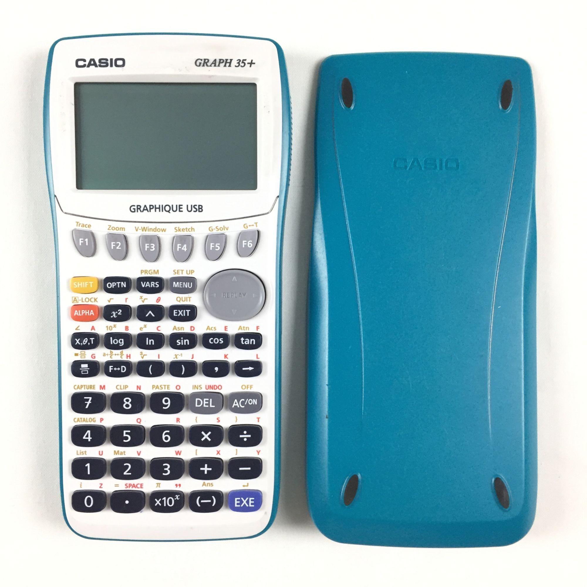 Casio Graph 35 E Calculatrice Graphique Calculatrice Graphique Usb Calcul