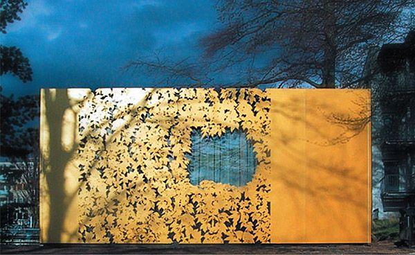 leAves in steeL / hojA recorTada, DArmstadt, Angela Fritsch Architekten