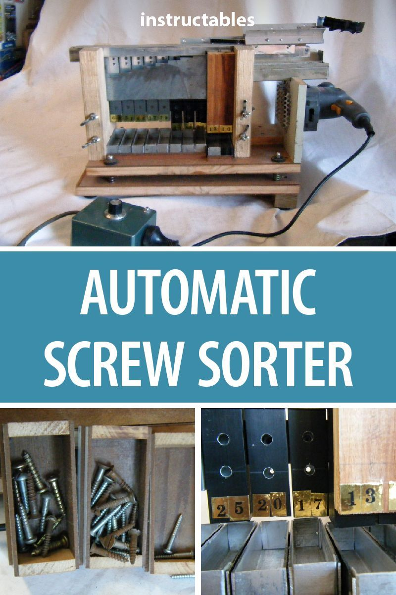 automatic screw sorter | workshop projects | easy