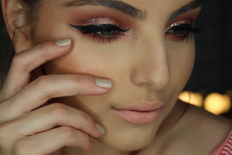 Glamorous Red Smokey Eye Tutorial  Makeup and Hair  Pinterest