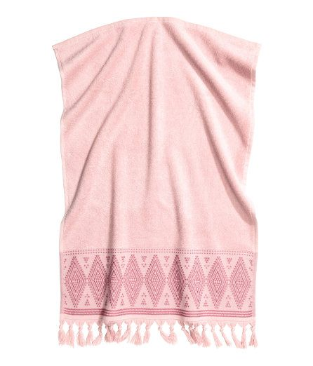 Check This Out Hand Towel In Soft Cotton Terry With An Embroidered Pattern And Tassels At Lower Edge Hanger Loop On One Sh Fashion Fashion Online Hand Towels