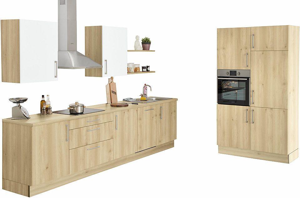 set one by Musterring Küchenzeile »Navaro« mit E-Geräten, Breite - esszimmer mobel musterring