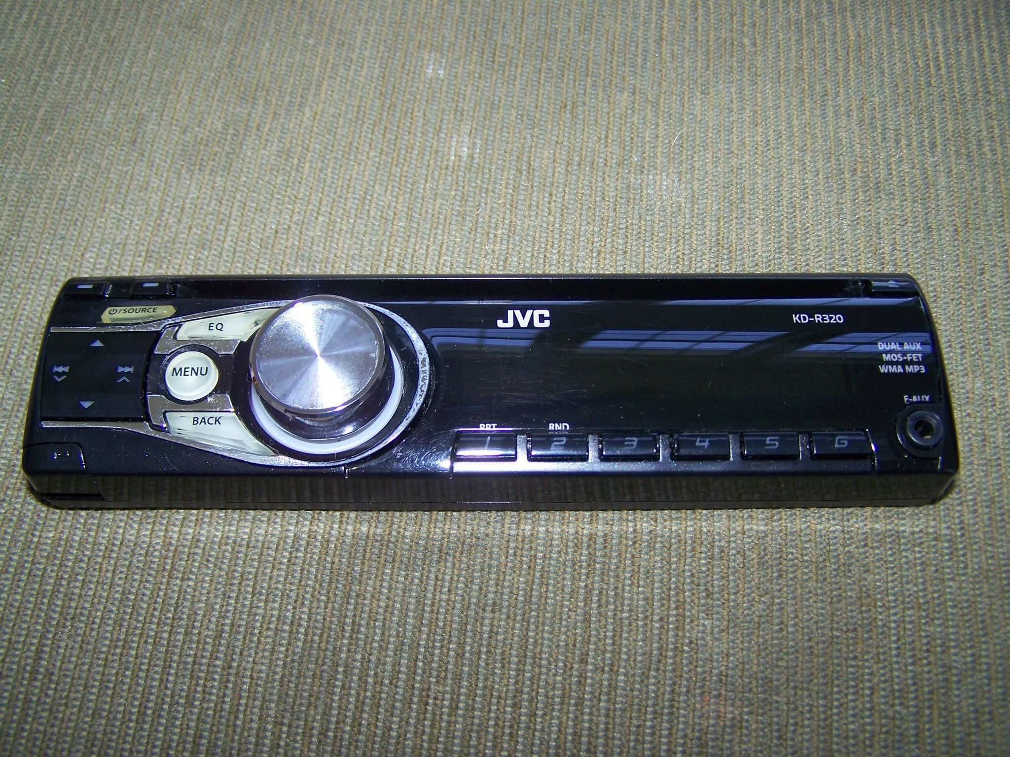 JVC Stereo Face Plate Replacement Model KD-R320 faceplate KD R320 KDR320