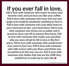 If you ever fall in love   love quotes
