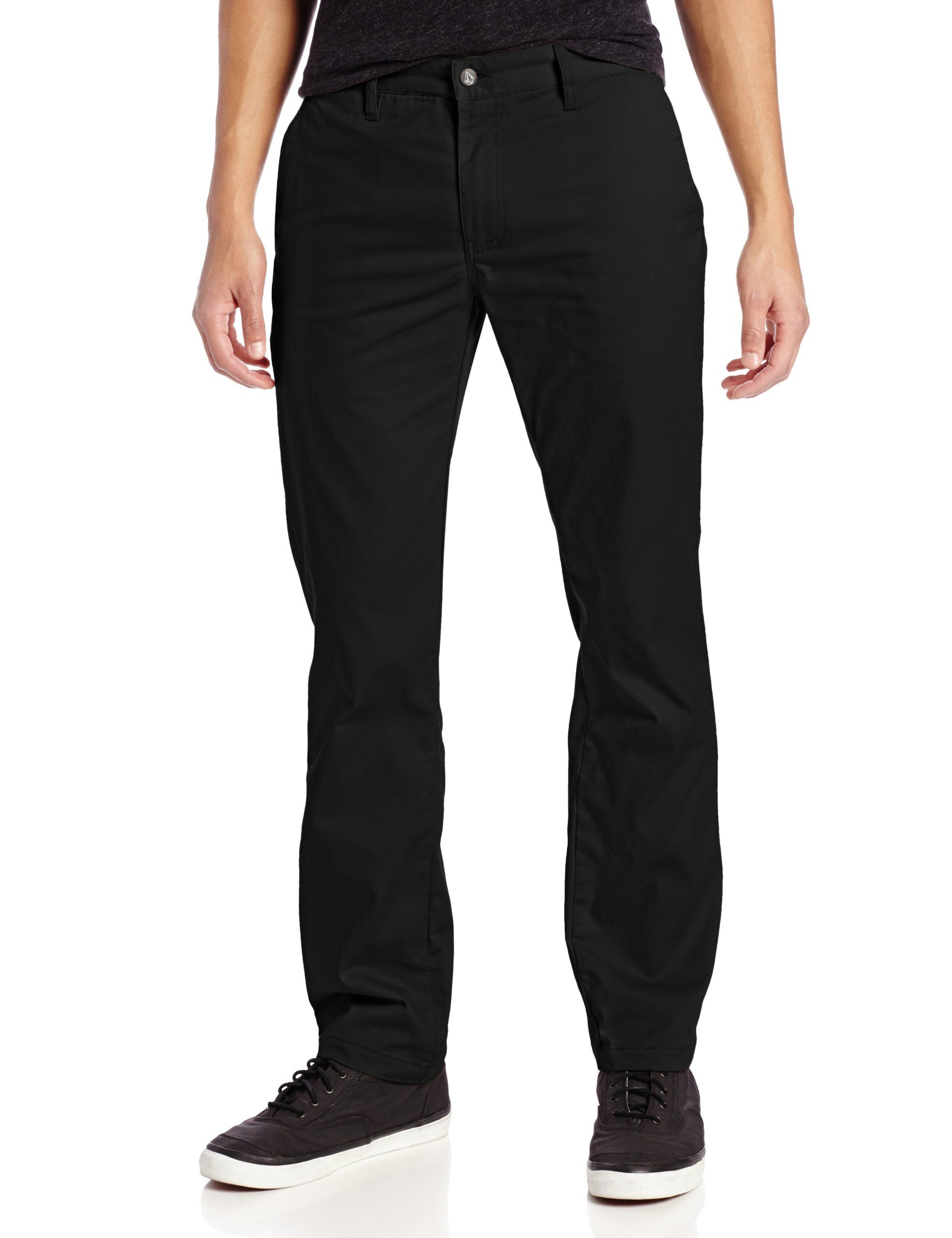 ebfae791fdcf35 Volcom Mens Frickin Modern Stretch Chino Pant, Black, 28: Amazon.ca:  Clothing & Accessories