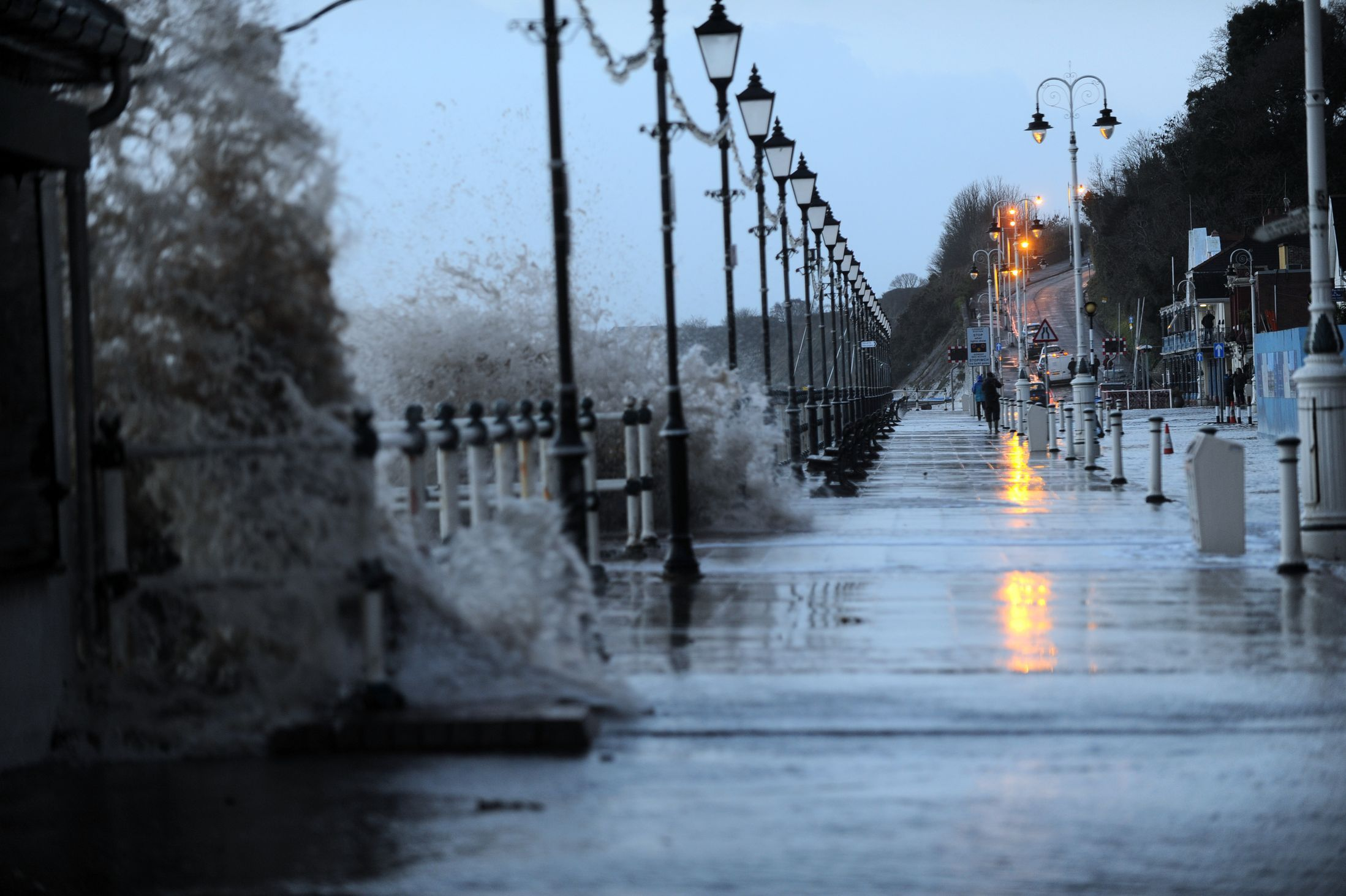 Wales weather: 30 dramatic pictures of the storm that