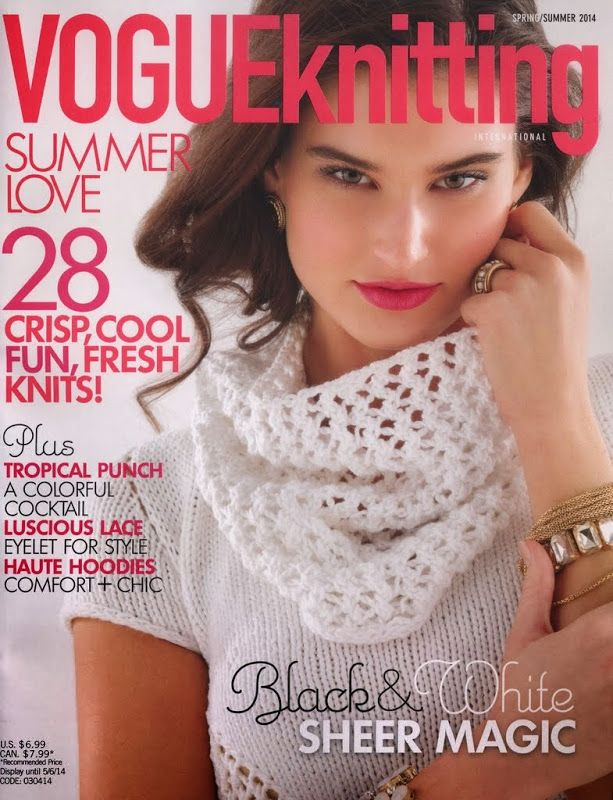 Vogue Knitting 2014 Sring-Summer