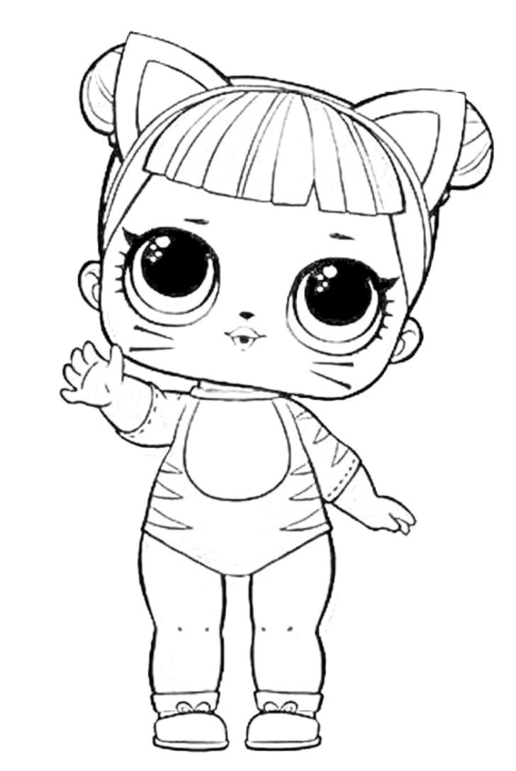 Lol Surprise Baby Cat Da Colorare E Stampare Disegni Da Colorare