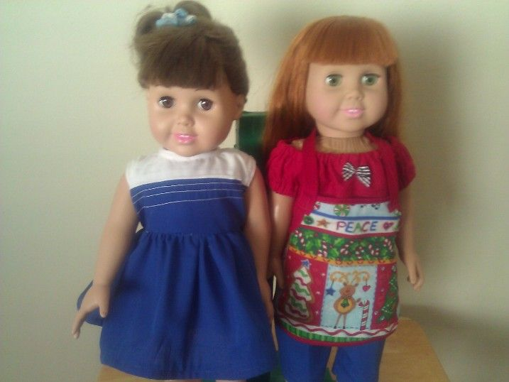 Corrinne and Olivia