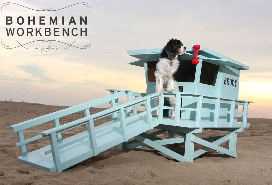 Lifeguard Stand Dog House By Bohemian Workbench Dog Bed Modern Dog House Bed Dog Houses