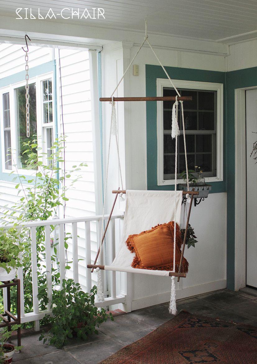 Haz tus propias hamacas DIY con la técnica de macrame, en forma de silla o de cama con palets, do it yourself and chill out!