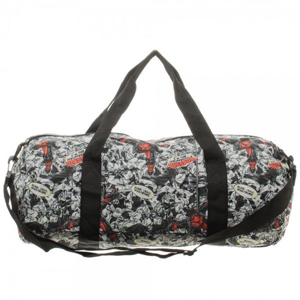 Marvel Comics Deadpool Packable Duffle Bag