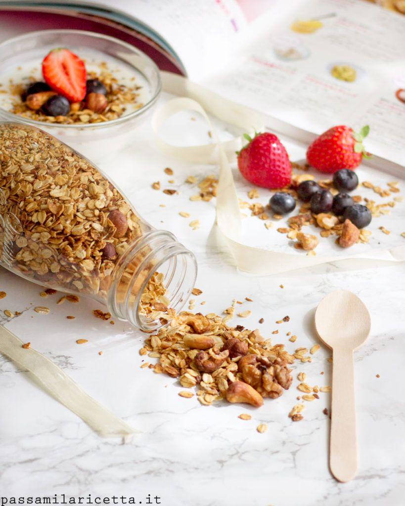 Granola Fatta in Casa, Senza Zucchero – Passami La Ricetta