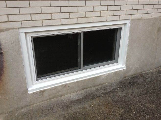 How To Replace A Basement Window Well With Metal Frame In