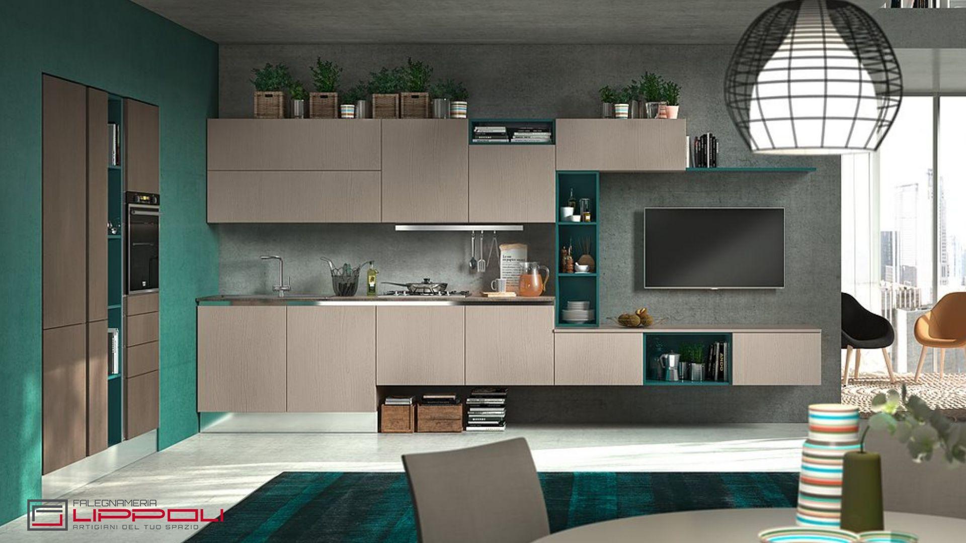 Idea arredamento cucina. | Lippoli Arredamenti | Home Decor, Decor e ...