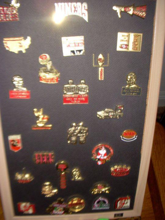 e6a8cf3c San Francisco 49ers Helmet & Logo Pins Collectibles Great for ...