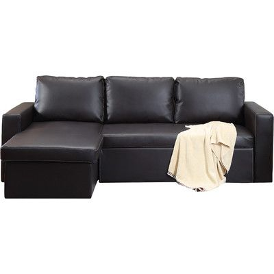 Geor own Sectional Sleeper Sofa in Brown
