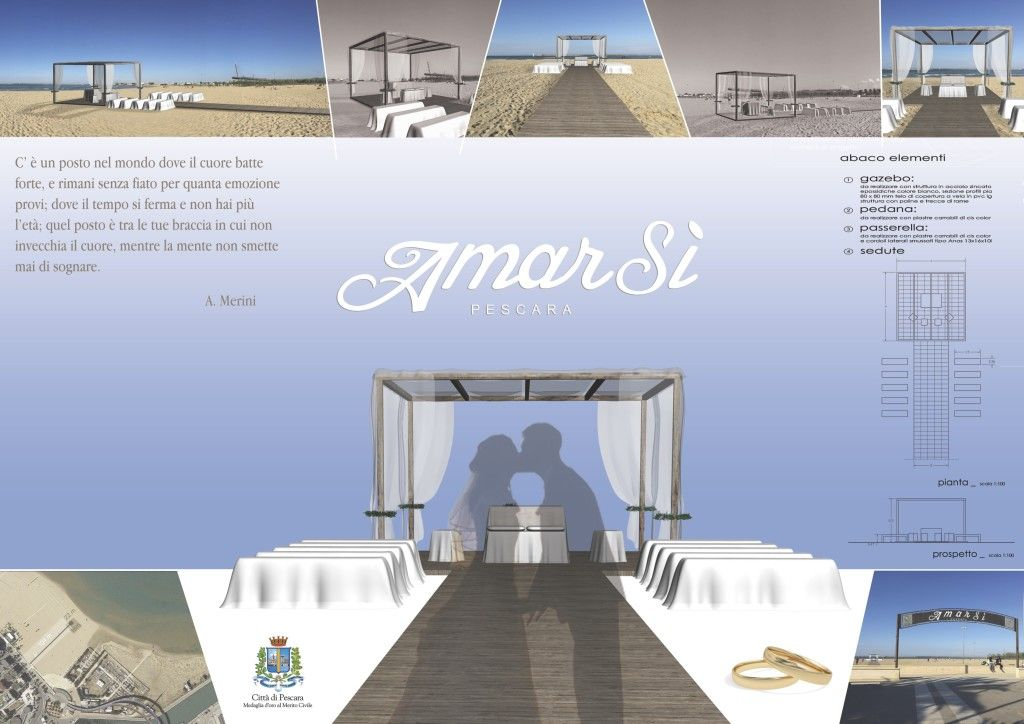 Ponte del Mare e Trabocchi, lo scenario suggestivo del primo matrimonio in spiaggia in Abruzzo - L'Abruzzo è servito   Quotidiano di ricette e notizie d'AbruzzoL'Abruzzo è servito   Quotidiano di ricette e notizie d'Abruzzo