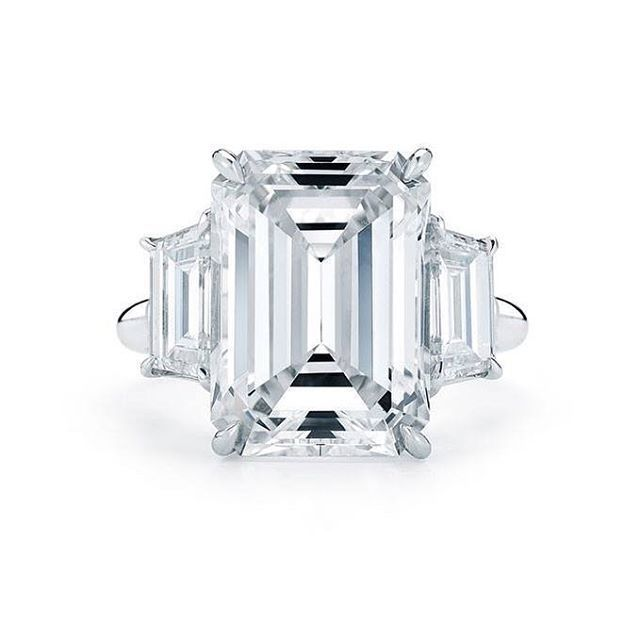 imeless, classic, essential! When you're looking for a ring that makes a statement, you've got to talk to us @indyfacets  www.indyfacets.com  #indyfacets #diamond #emeraldcut #timeless #essential #classic #engagementring #anniversary #platinum