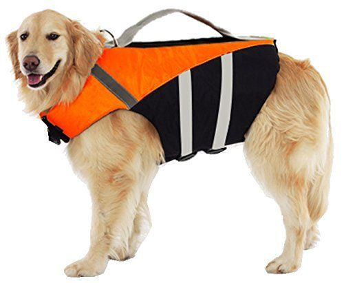Expawlorer Extra Large Ripstop Dog Life Jacket With Handle Adjustable Reflective Pet Puppy Saver Swimming Life Vest Coat F Small Dog Clothes Dog Life Pet Puppy