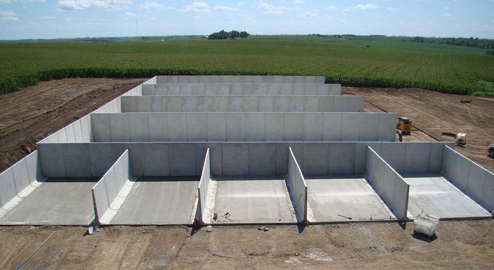 Precast Concrete Panels And Bunkers Precast Concrete Silos Concrete House