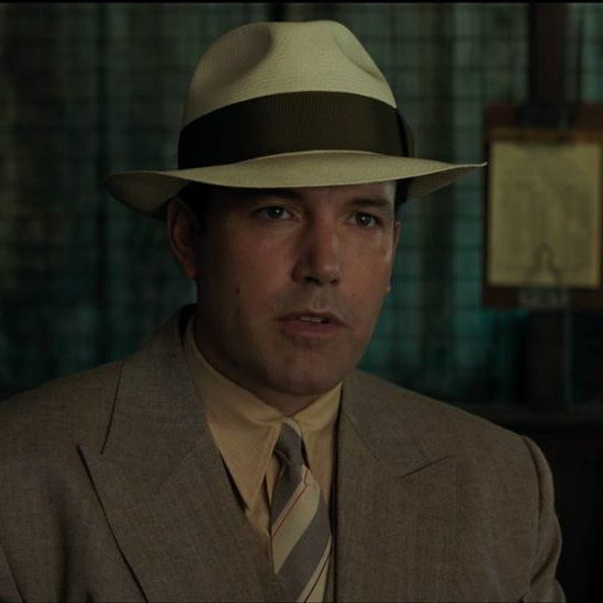 The Straw Fedora Hat That Ben Affleck Joe Coughlin Wears In The