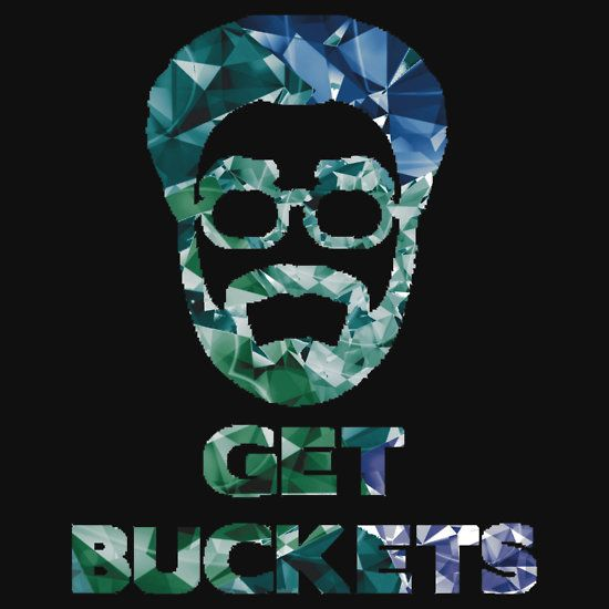 Uncle Drew Get Buckets Prism Stickers By
