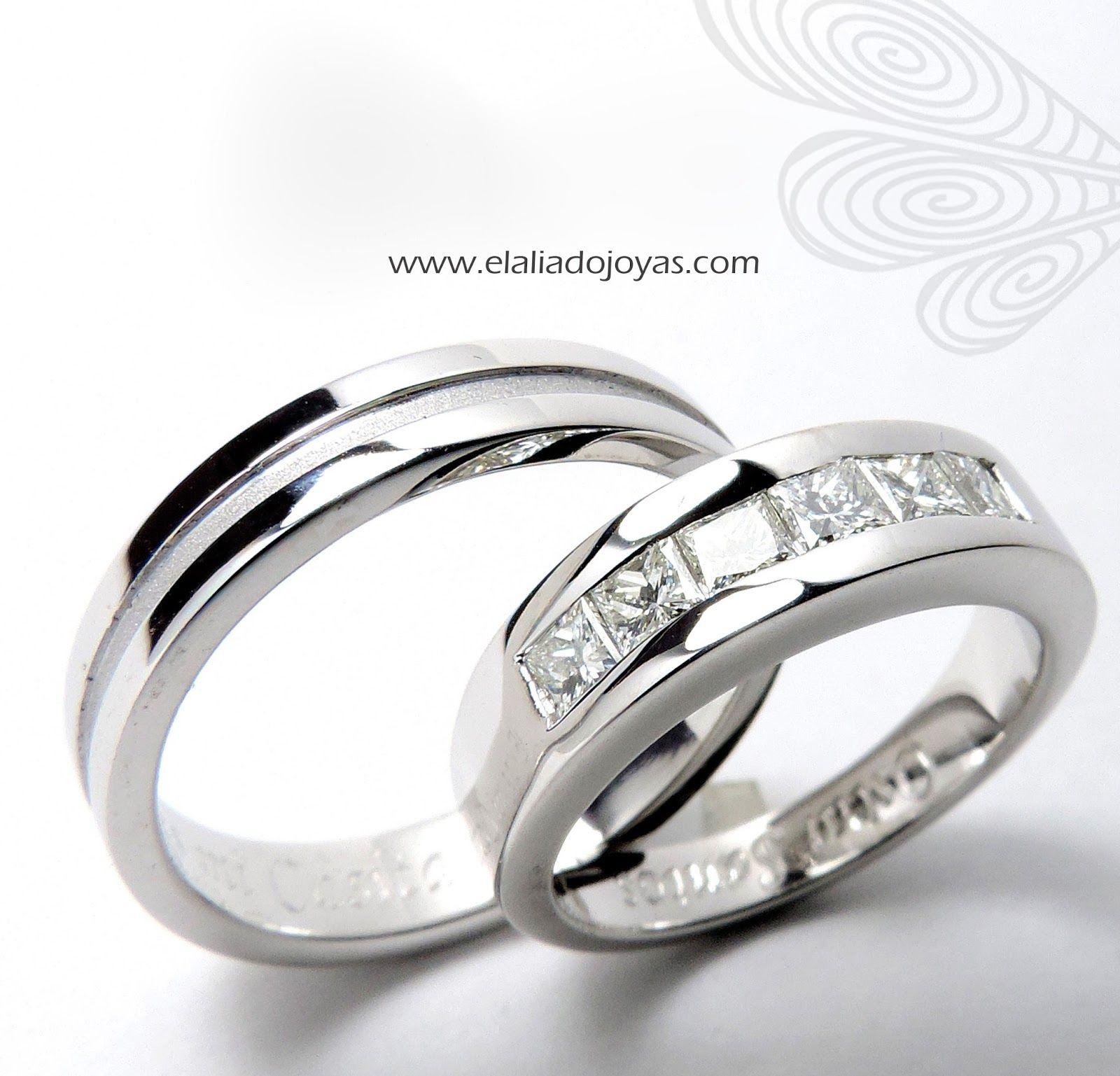 Argollas de matrimonio y anillos de compromiso anillos de boda pinterest anillos de - Anillo de casado mano ...