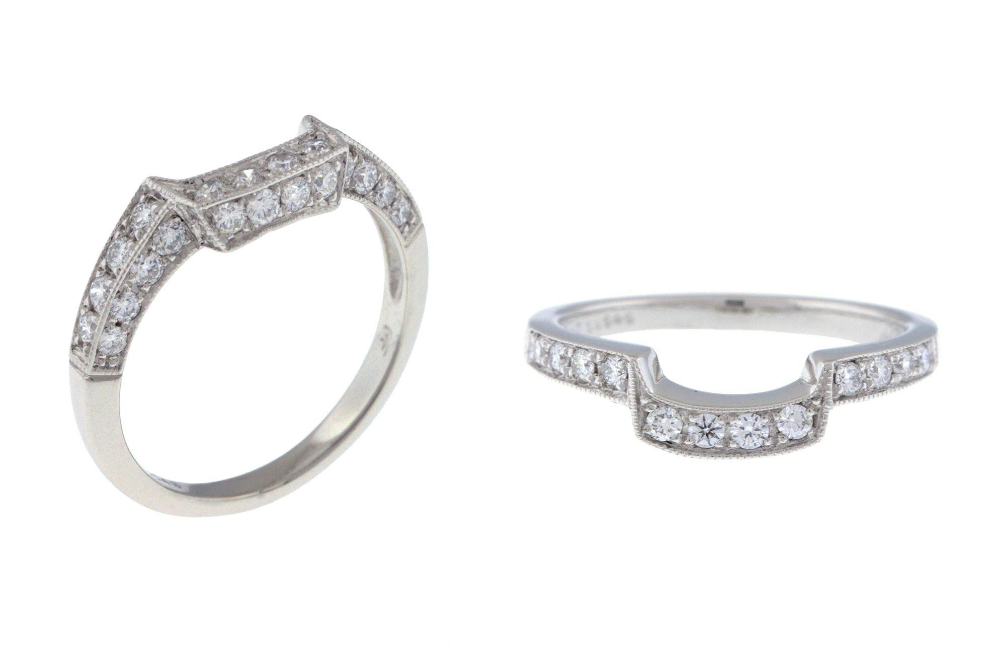 #customband #platinum #platinumring #curveddiamondband #diamondweddingband