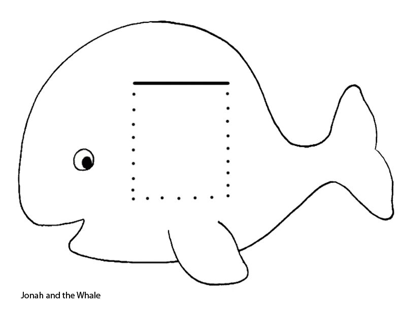 Preschool Jonah And The Whale | Pinterest