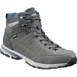 Zapatillas de senderismo ligeras para hombre Meindl Durban Gtx Mid, talla 44 ½ en antracita / azul, talla 44 ½ en antracita