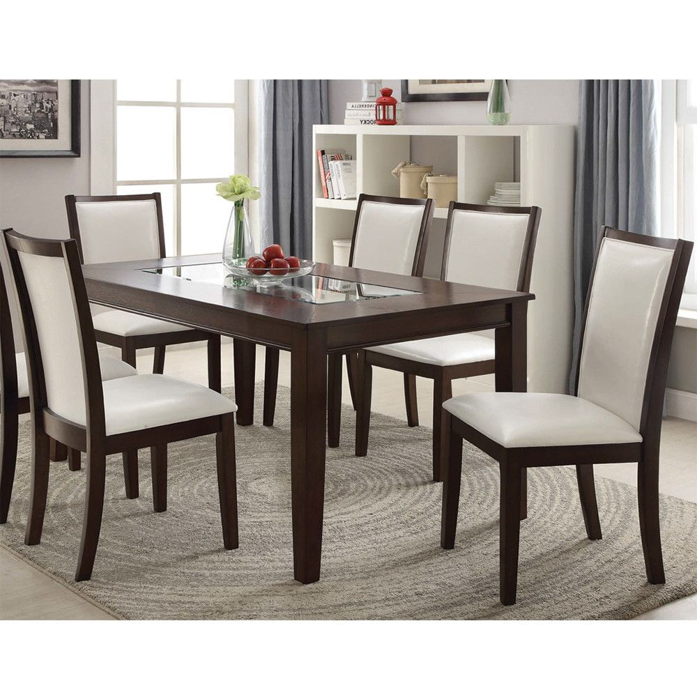Acme Eastfall 64 Quot Dining Table Espresso Dining Table Espresso Dining Tables Furniture