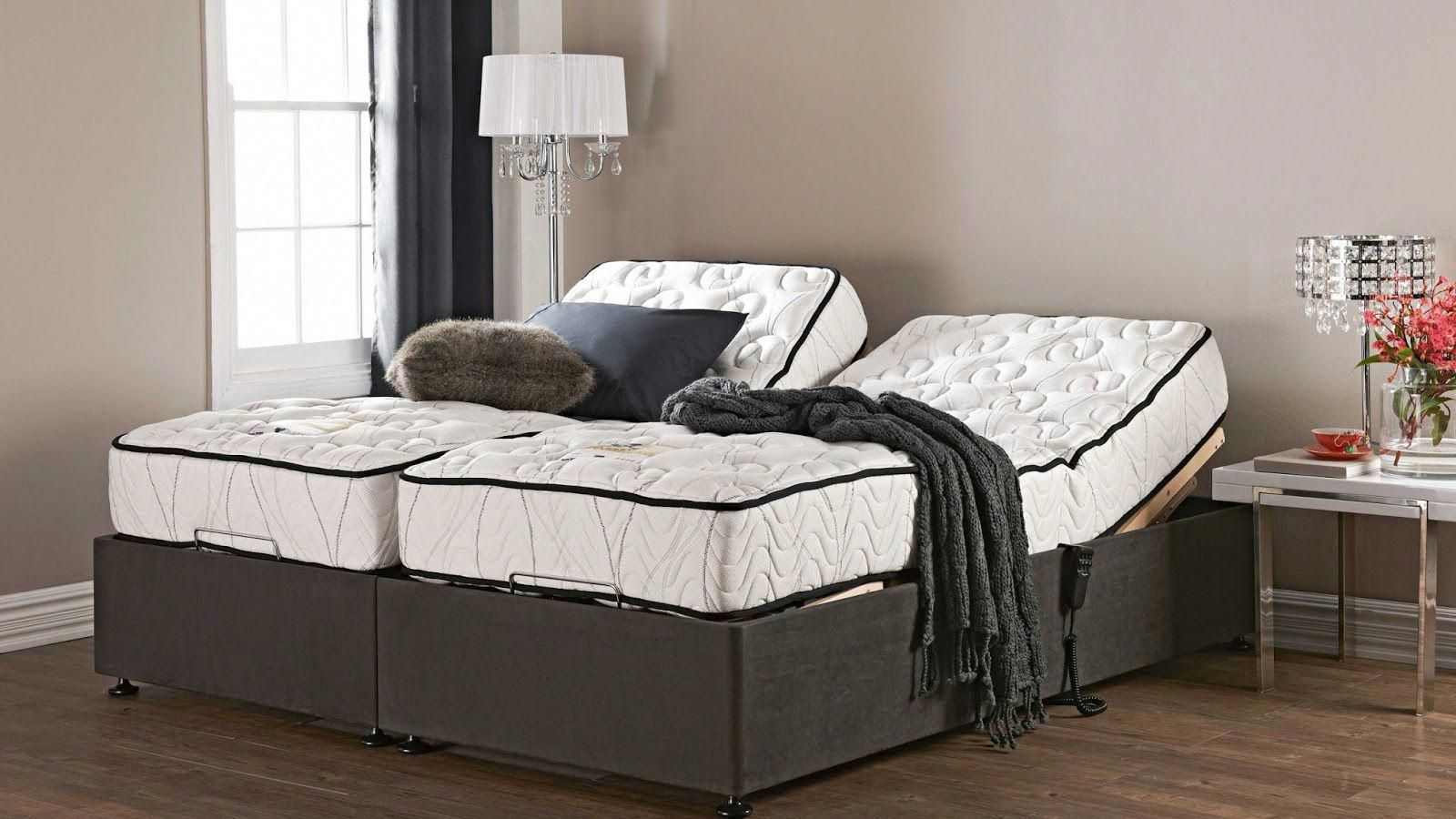 Split Queen Adjustable Beds With Mattress Furnitureanak