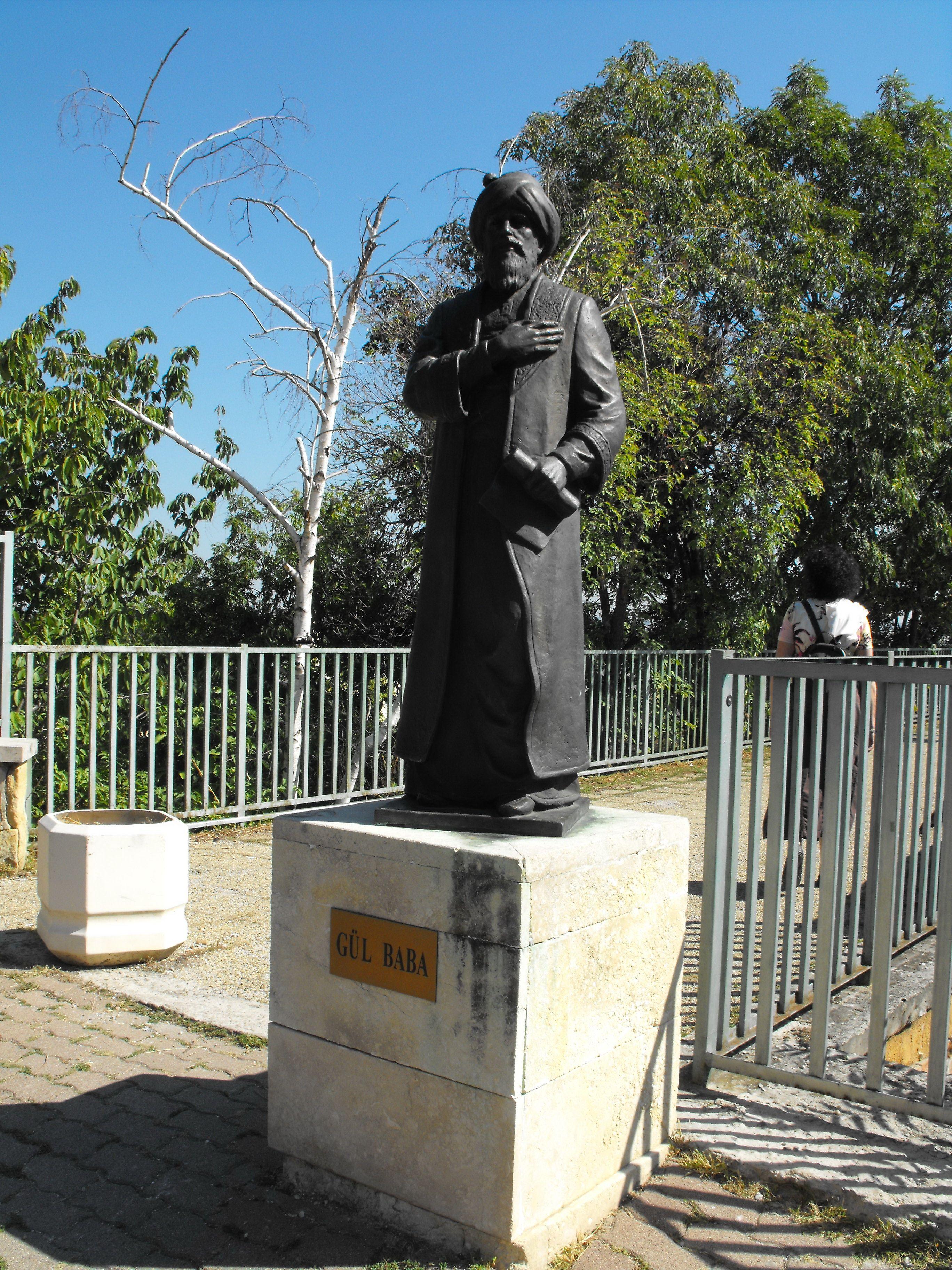 Gül Baba szobra, Budapest