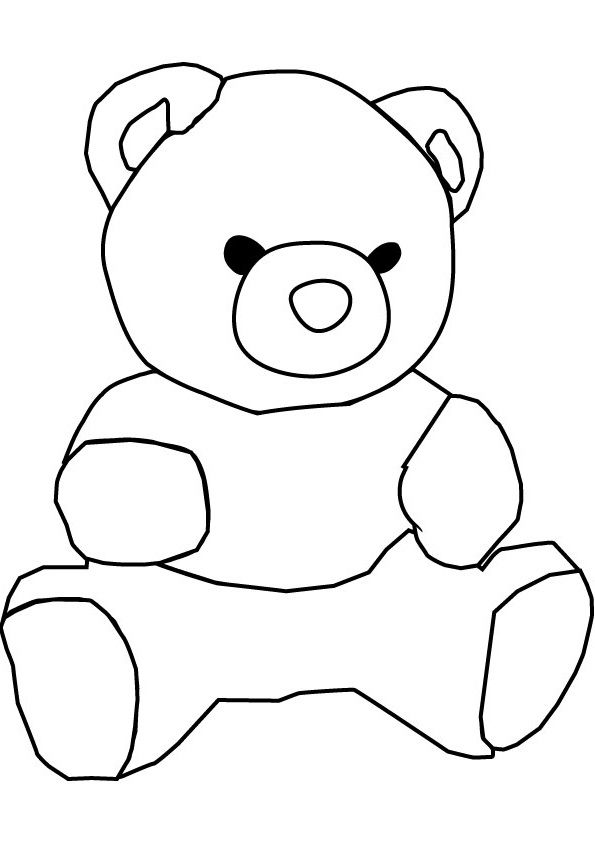 Teddy Bear With Round Face Shape | Teddy Bears | Pinterest | Teddy ...